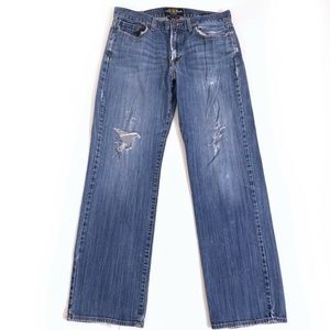 Lucky Brand distressed holes Jeans Mens Size 34